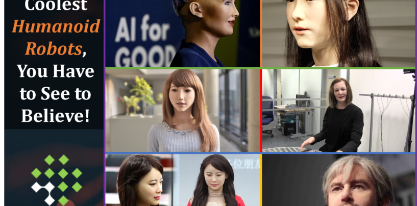 The 6 Coolest Humanoid Robots, You Have to See to Believe!