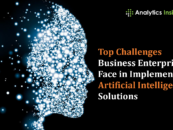 Top Challenges Business Enterprises Face in Implementing Artificial Intelligence Solutions
