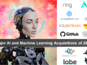 Major AI and Machine Learning Acquisitions of 2018