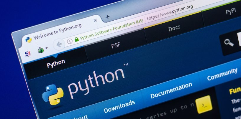 Python in the Number One Programming Language