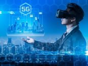 The Integration of 5G with Augmented and Virtual Reality