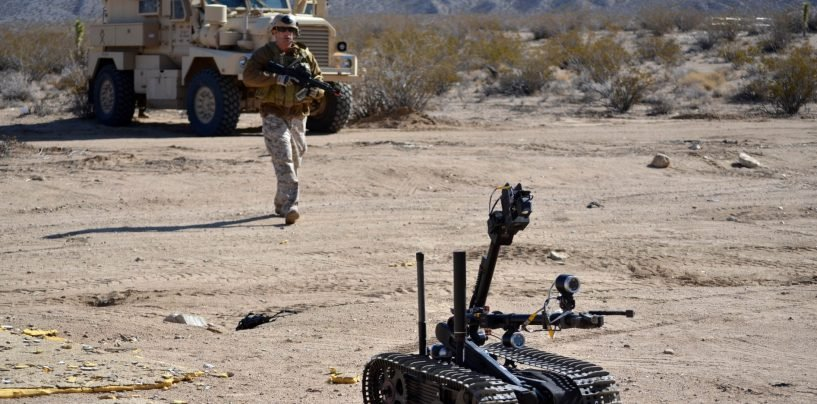 DARPA's Initiative to Train Military Robots Swarm Using Gamers' Brain