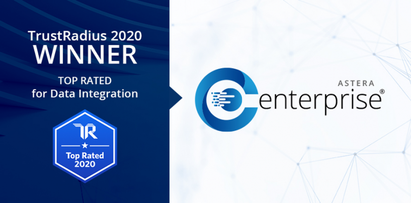 Astera Centerprise Wins the TrustRadius Top-Rated 2020 Award For Data Integration