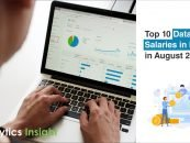 Top 10 Data Science Salaries in India in August 2020