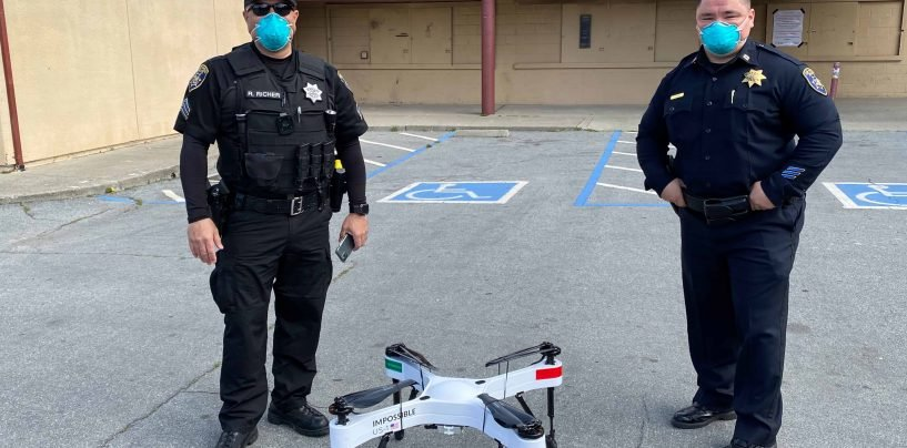 Police Drones are Watching You!