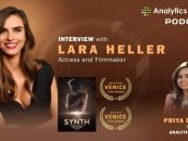 Introducing SYNTH – The True Story of A Humanoid with British Actress Lara Heller