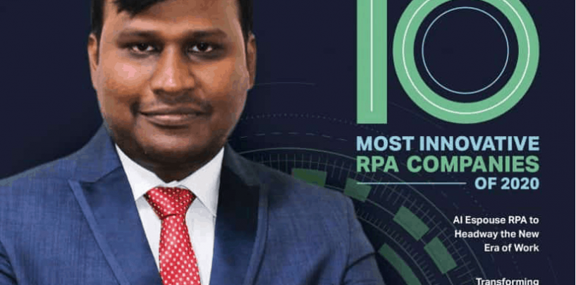 The 10 Most Innovative RPA Companies of 2020