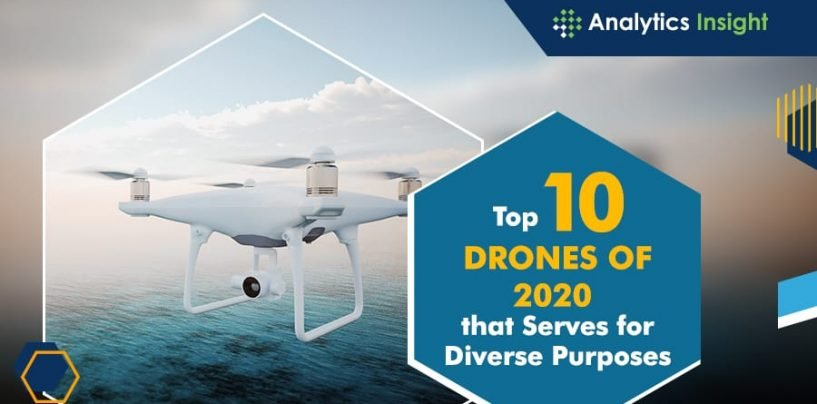 Top 10 Best Drones of 2020 that Serves for Diverse Purposes