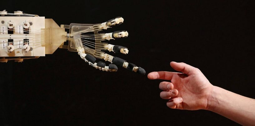 Anthropomorphic Robotic Hand Learns Soft Grasping through Spiking Neural Network