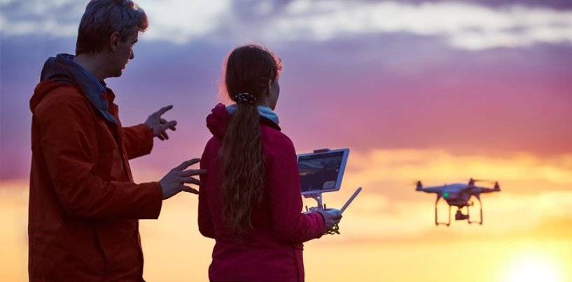 TV Broadcasting Increasingly Adopting Drones Technology