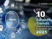 Top 10 Edtech Trends that will Disrupt Education Sector in 2021