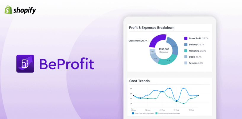 BeProfit – Profit Tracker: Lifetime Profit and Expense Reports for Shopify