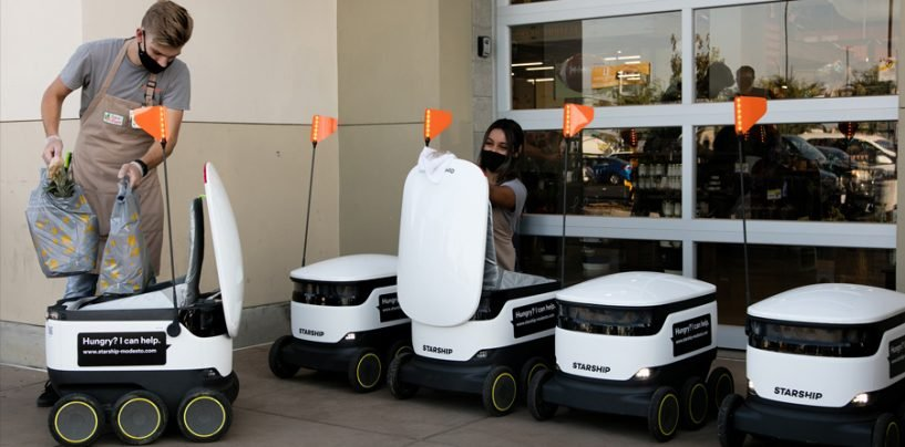 More Robo-Delivery Trials will be Witnessed on the UK Streets