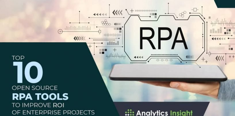 Top 10 Open Source RPA Tools to Improve ROI of Enterprise Projects