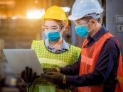How is AI helping to keep factory operations safe in pandemic times?